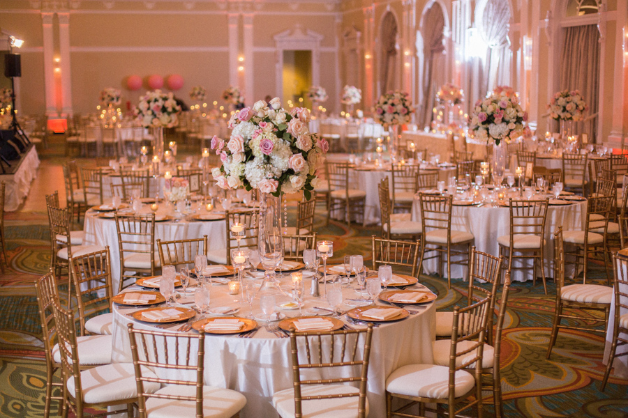Rose Gold Wedding Ideas For Ceremony Reception Décor: Rose Gold Wedding Theme