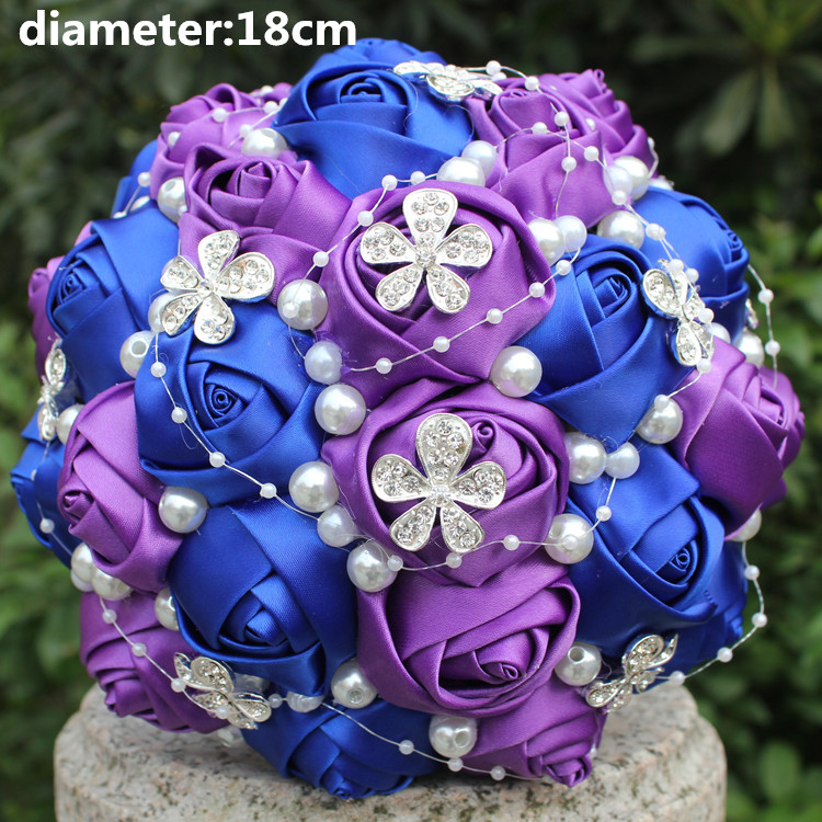 Royal Blue And Royal Purple Wedding