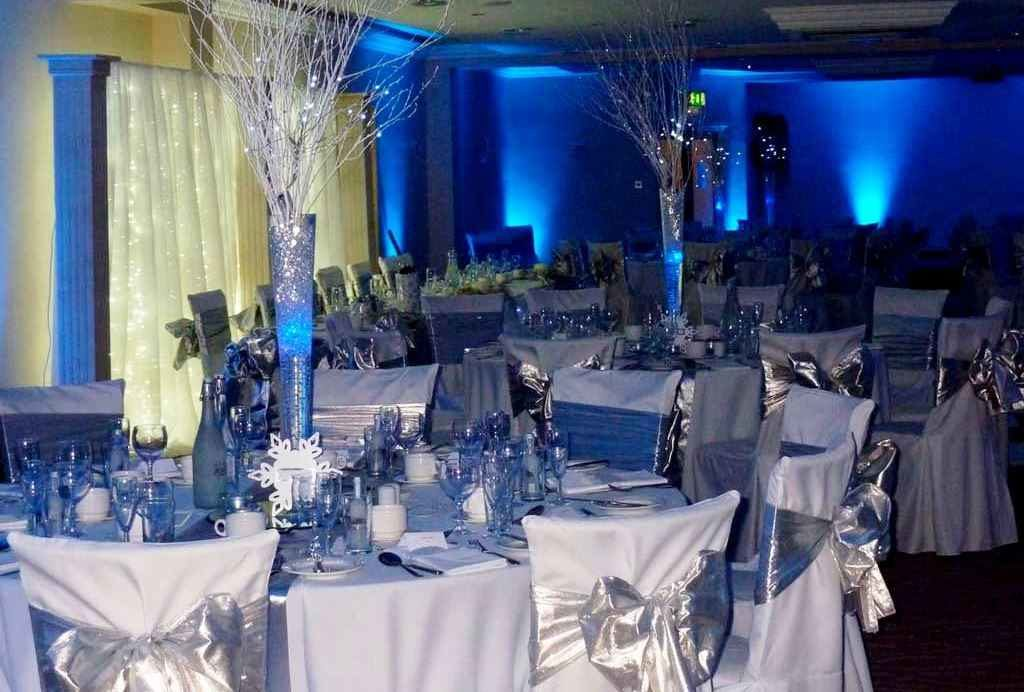 Royal Blue And Silver Table Decorations Credainatcon