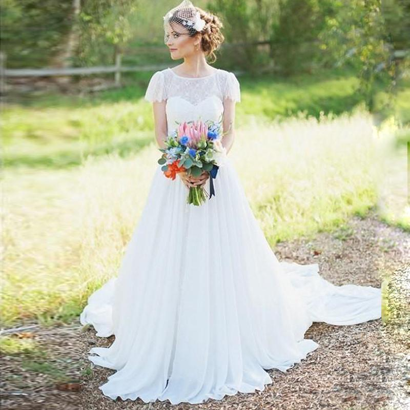 Rustic lace wedding dress for Rustic wedding dresses cheap