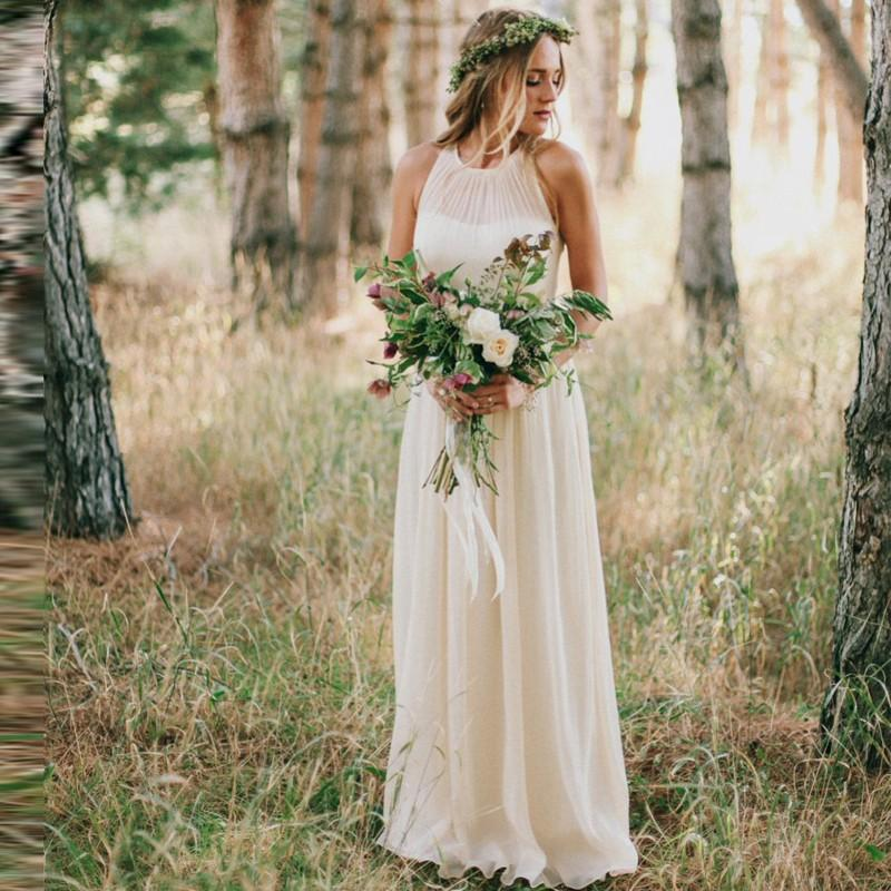 Simple Country Wedding Dress