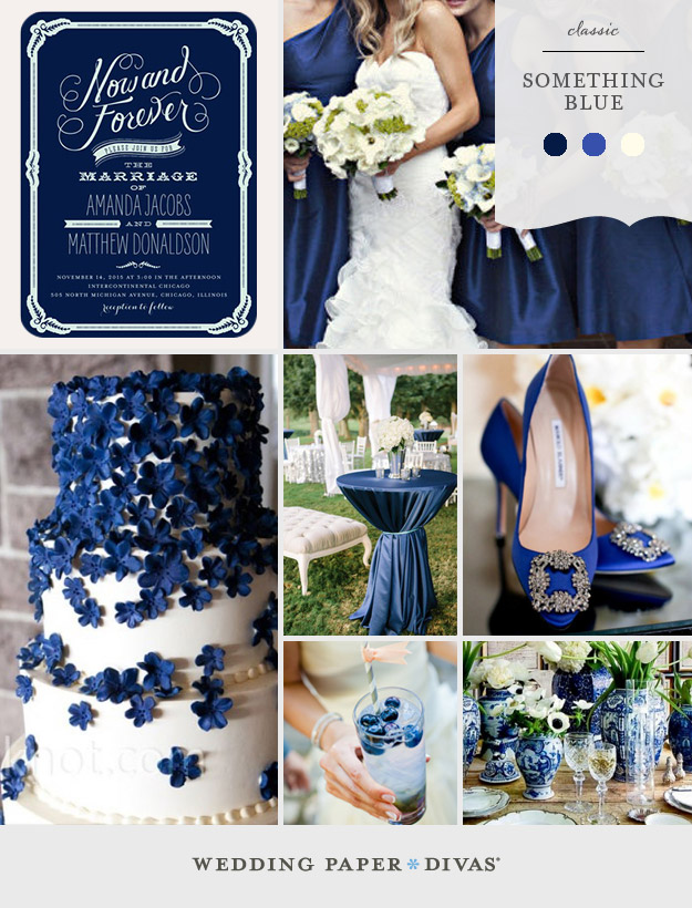 Stunning Blue And Ivory Wedding Gallery - Styles & Ideas 2018 - sperr.us