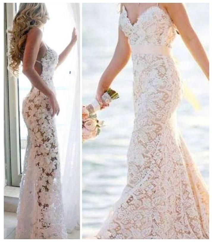 Stunning Emcraft Org Lace Wedding Dress Contemporary