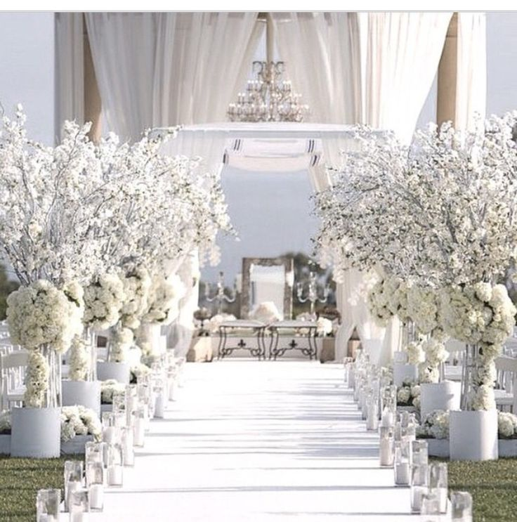 All white themed wedding choice image wedding decoration ideas all white themed wedding junglespirit Gallery
