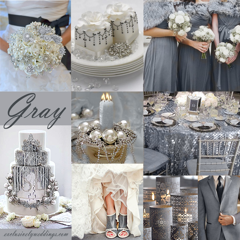 Terrific Silver Themed Wedding Ideas Wedding Silver Themed Wedding