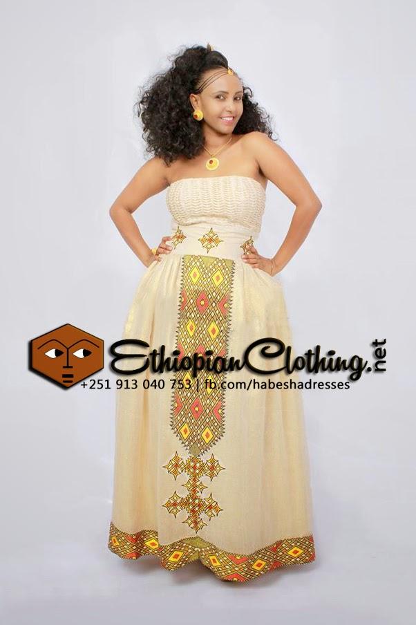 Ethiopian Traditional Dress For Wedding