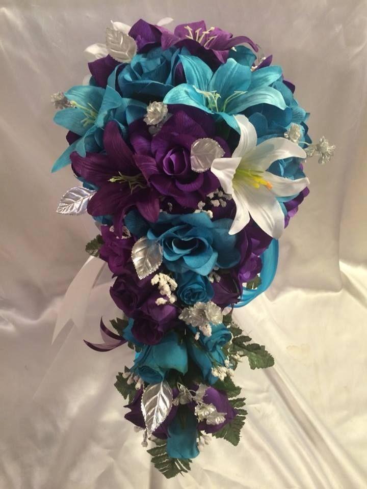 Plum And Turquoise Wedding