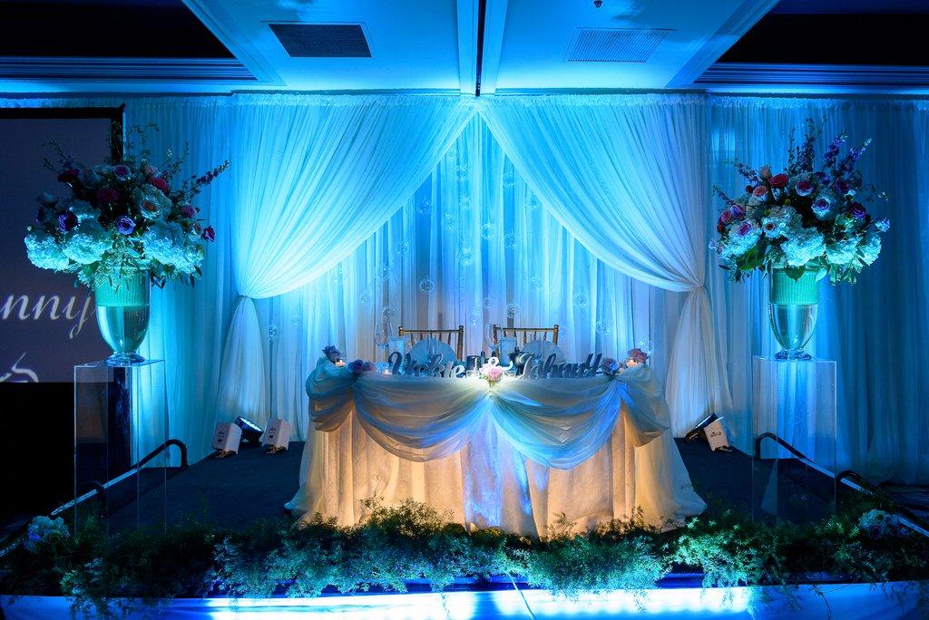 Aquarium Themed Wedding