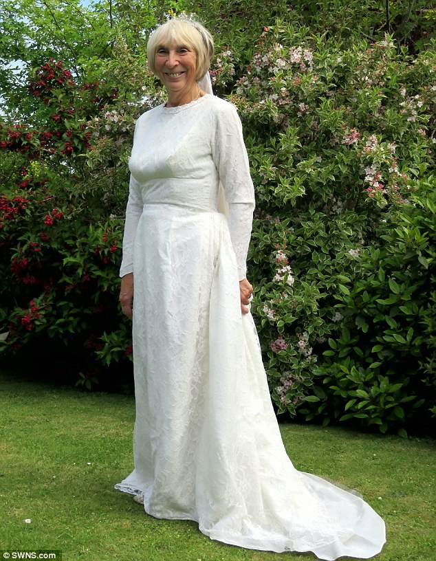 Wedding dress for 60 year olds for Wedding dresses for over 60 years old