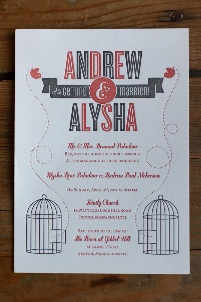 Cool wedding invitations junglespirit Image collections