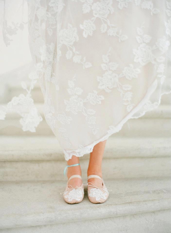 Ballerina Flats Wedding