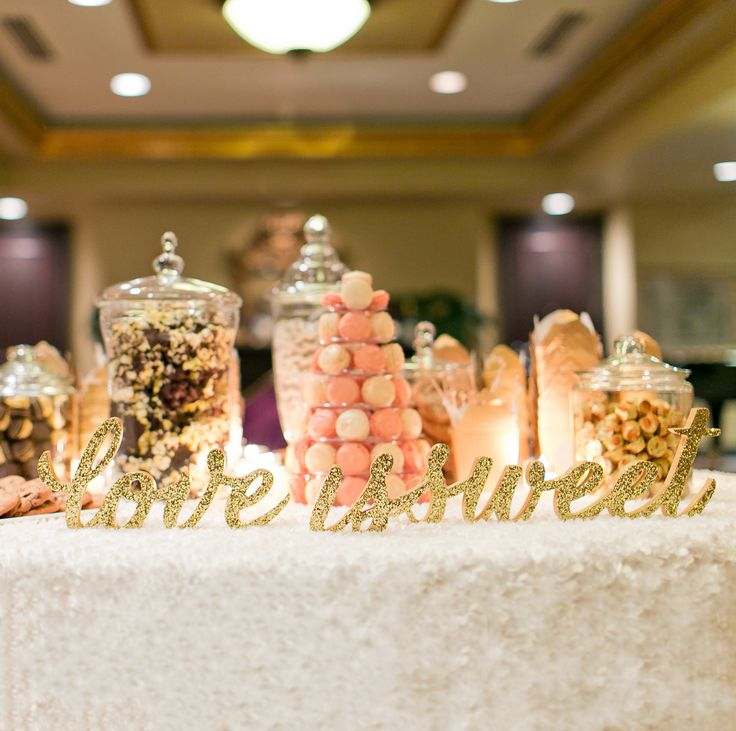 Candy Buffet Ideas For Wedding