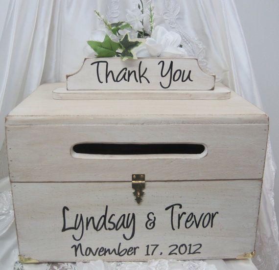 Wedding card boxes ideas