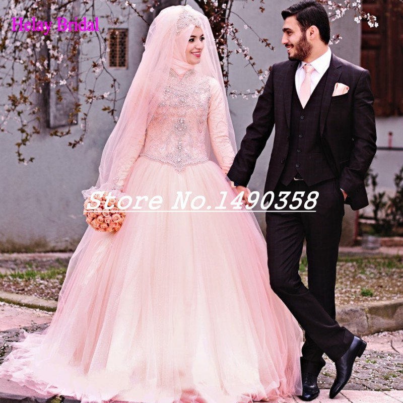 Arabic Designer Wedding Dress
