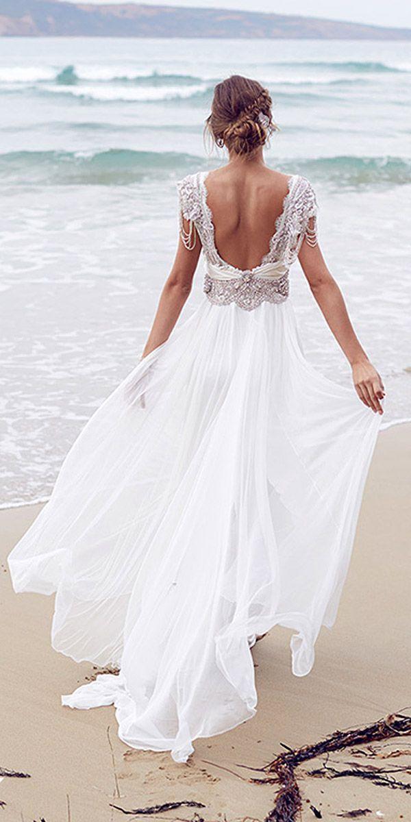 Hawaiian Beach Wedding Dress