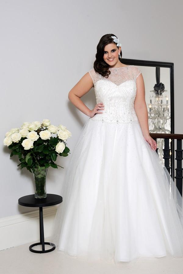 Wedding Dress For Curvy Brides