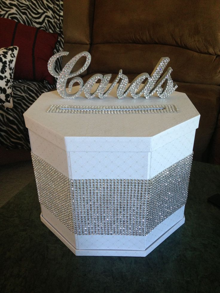 How To Make A Card Box For Wedding Reception Images - Wedding ...