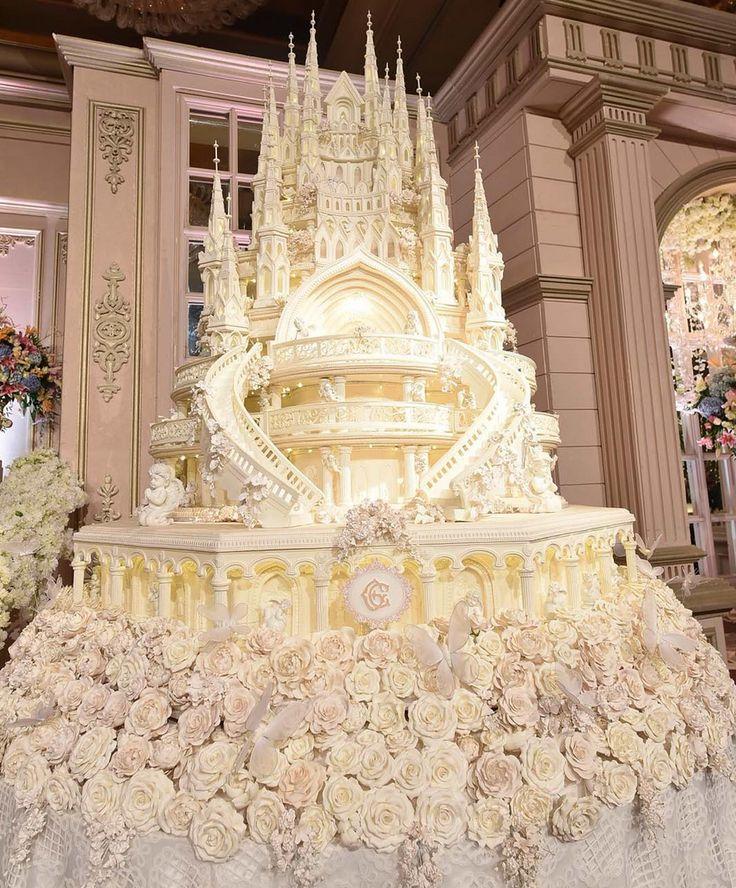 Wedding Ideas Super Big Castle Wedding Cake Ideas 2016 New