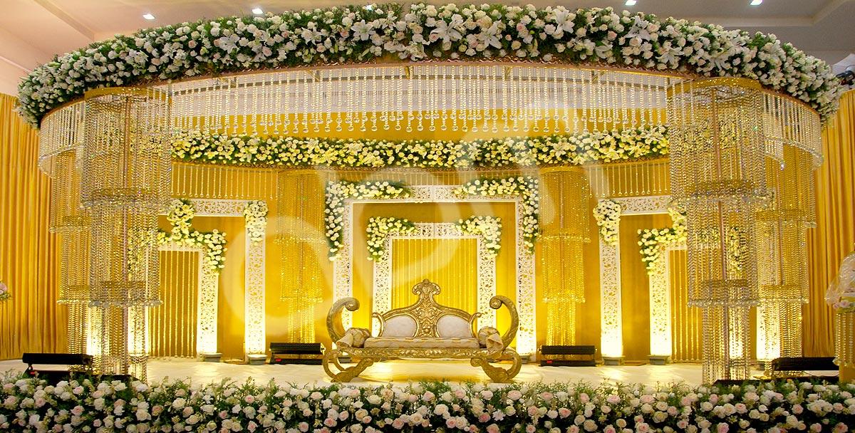 Elegant Wedding Stage Background Flowers 54 On Wedding Decoration & Elegant Wedding Stage Decoration Ideas Elegant Wedding Stage ...