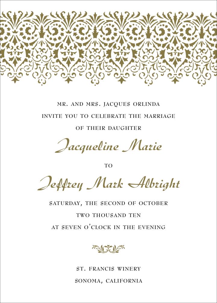 funniest wedding invitation wording