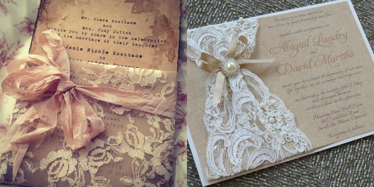 Best Handmade Wedding Invitations