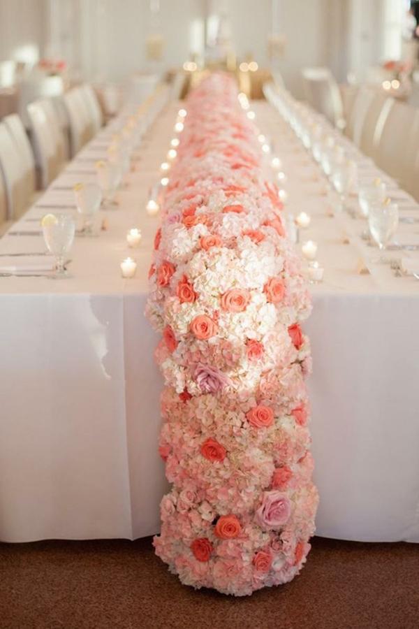 Wedding decorations table runners junglespirit Choice Image