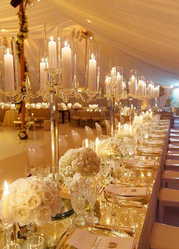 White and gold wedding decor junglespirit Choice Image