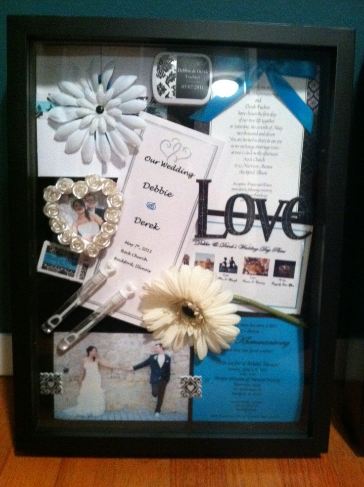 Wedding Shadow Box Ideas