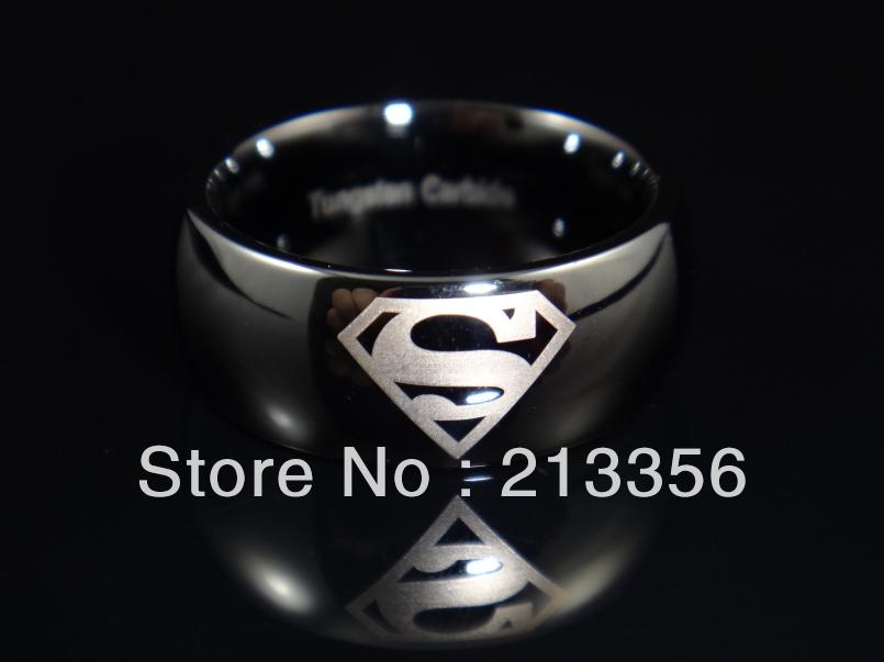 Superman Wedding Rings