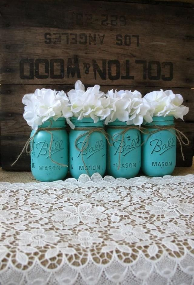 Amazing Turquoise And Brown Wedding Decorations 65 On Wedding