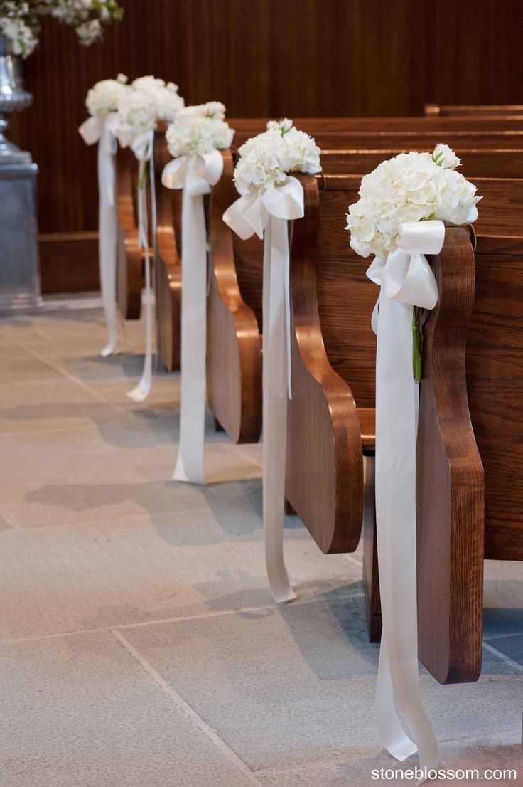 Awesome Cheap Wedding Pew Decorations 7
