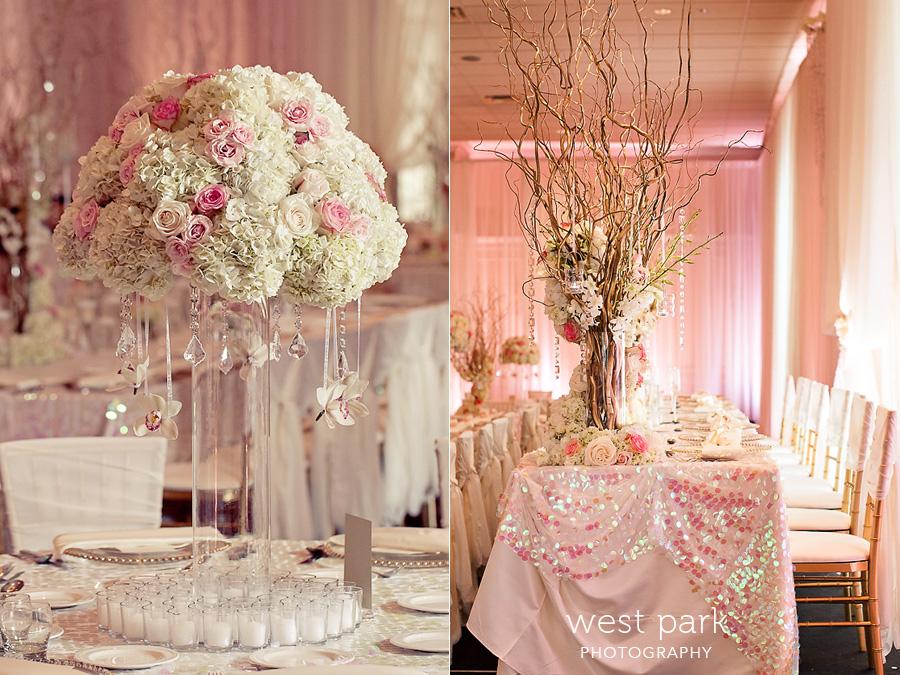Vintage Pink Wedding Decorations