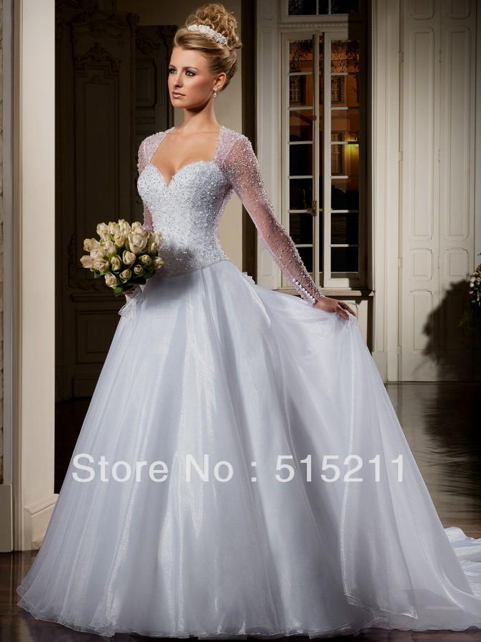 Beautiful Princess Ball Gown Wedding Dresses Naf Dresses ...