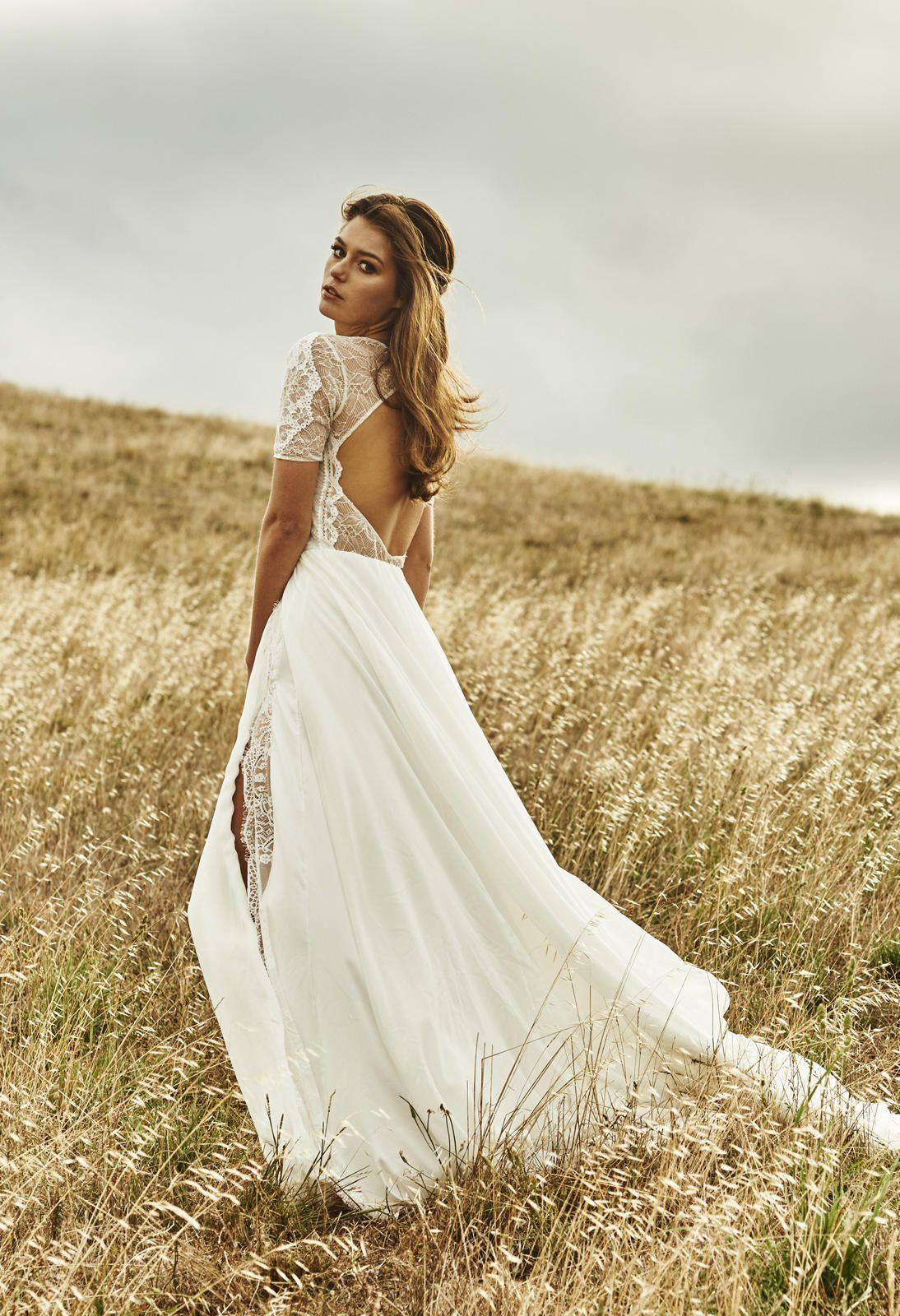 Rustic Style Wedding Dress
