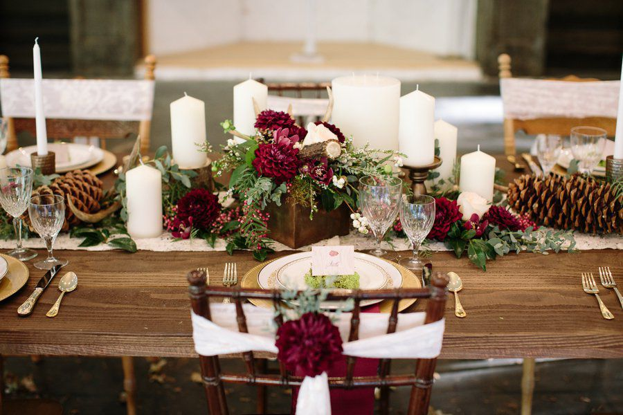Dark Red Wedding Decorations Emasscraft