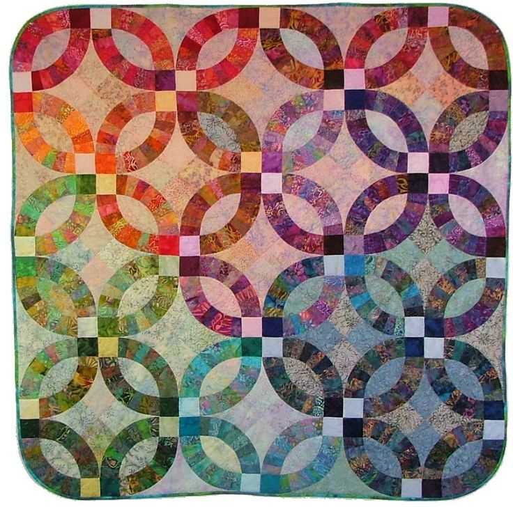 Double Wedding Ring Quilt Pattern