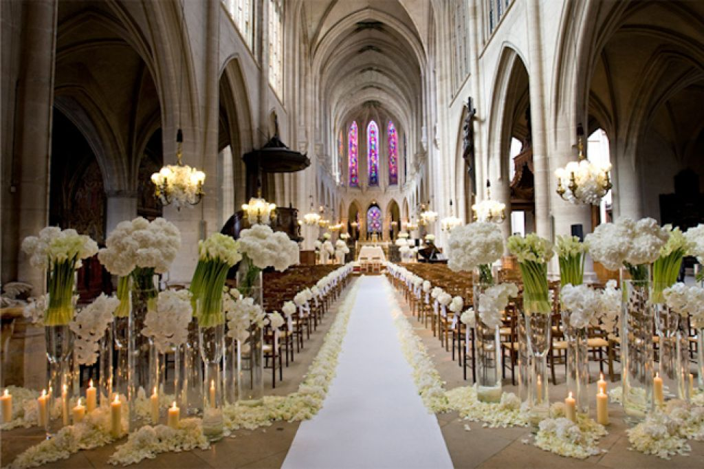 Elegant Church Wedding Decoration Ideas Elegant Church Wedding