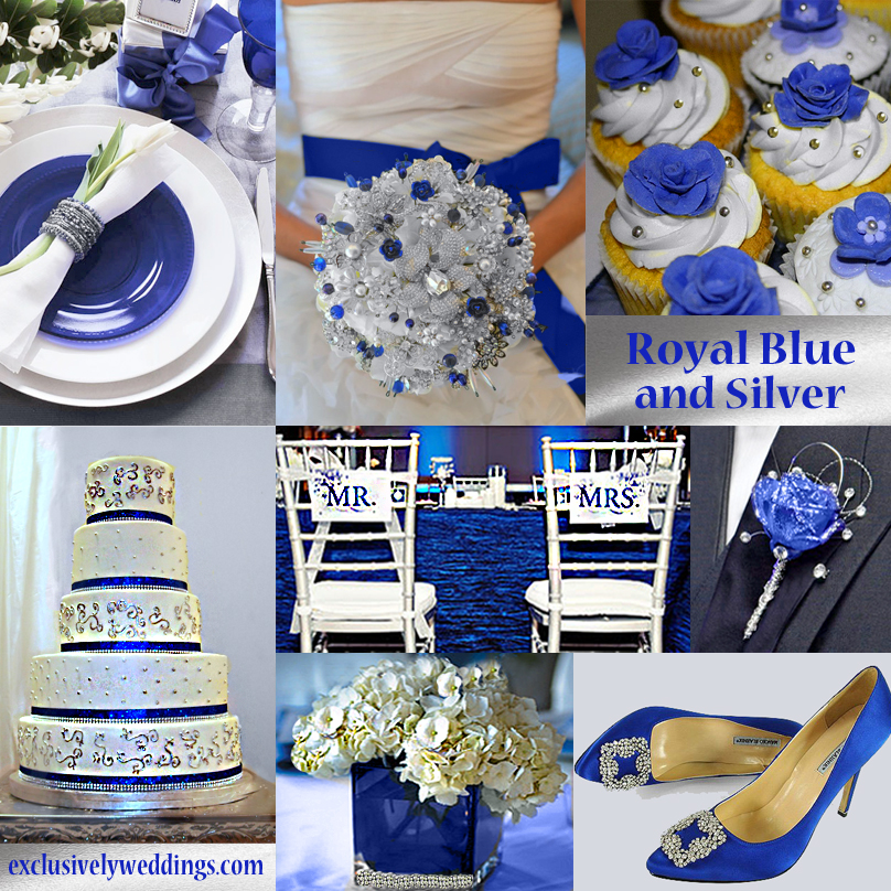 Royal Blue White Silver Wedding Wedding Tips And Inspiration