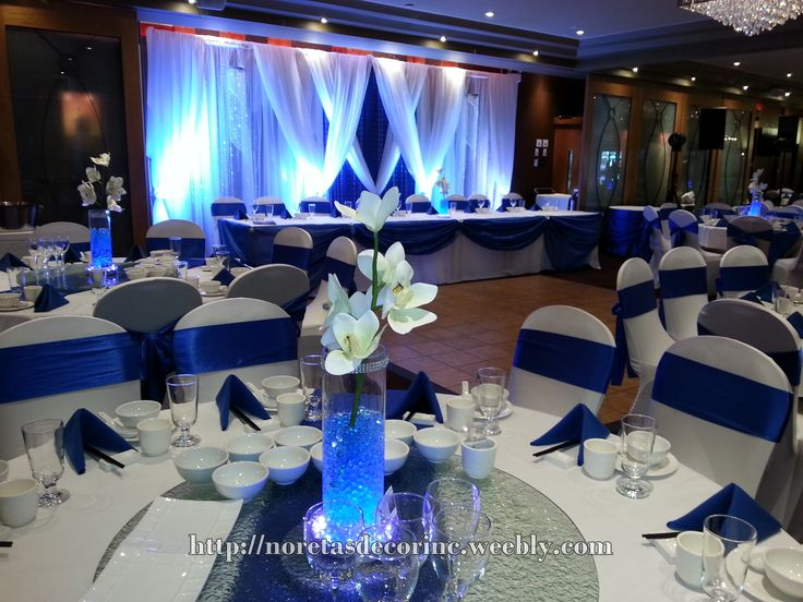 Extraordinary Blue And White Wedding Table Settings Contemporary & Charming Royal Blue Wedding Table Settings Contemporary - Best Image ...