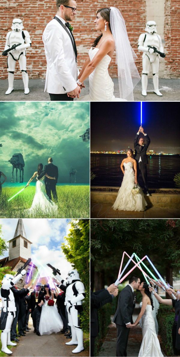 May The Force Be With You 21 Creative Star Wars Themed Wedding