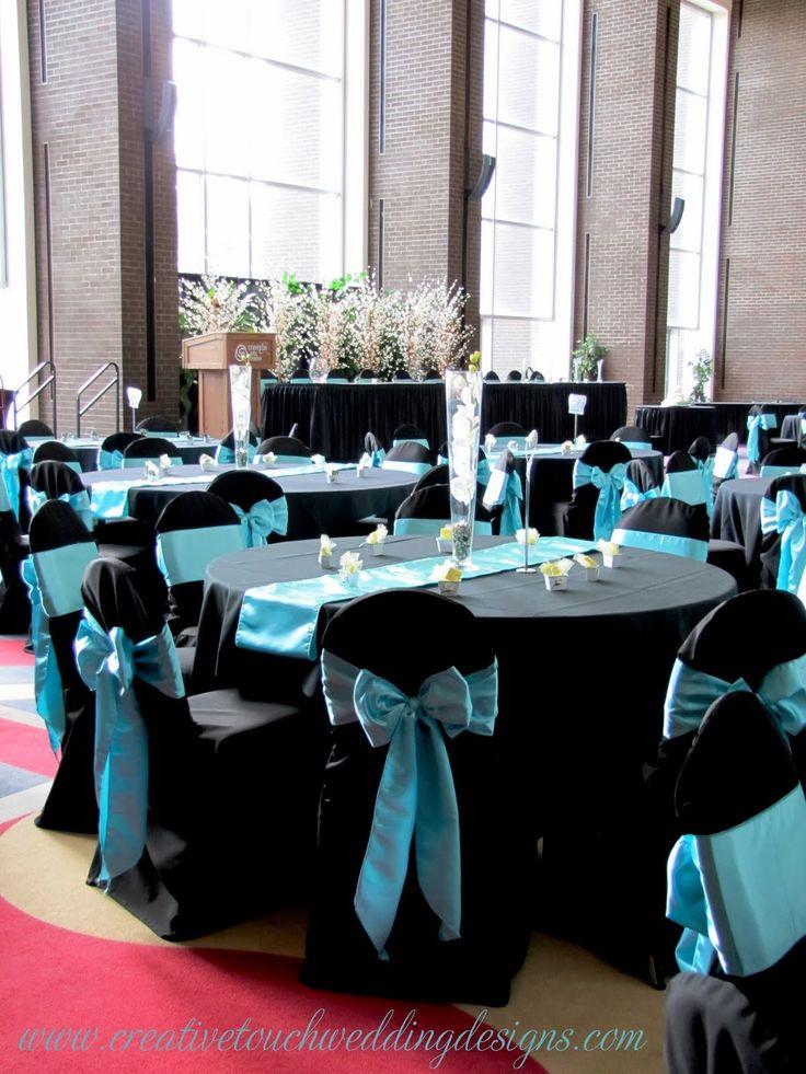 Tiffany Blue And Black Wedding Theme Images - Wedding Decoration Ideas