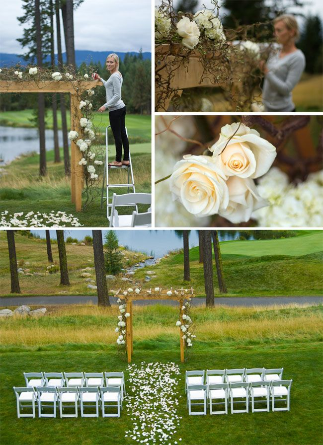 & Simple Outside Wedding Ideas