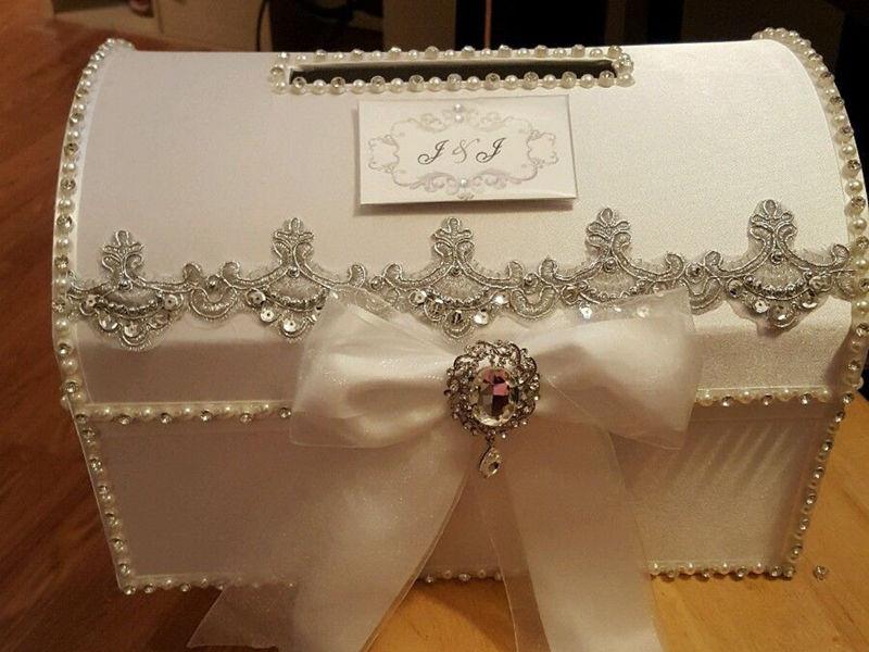 Card Gift Box Wedding: Wedding Card Box With Lock