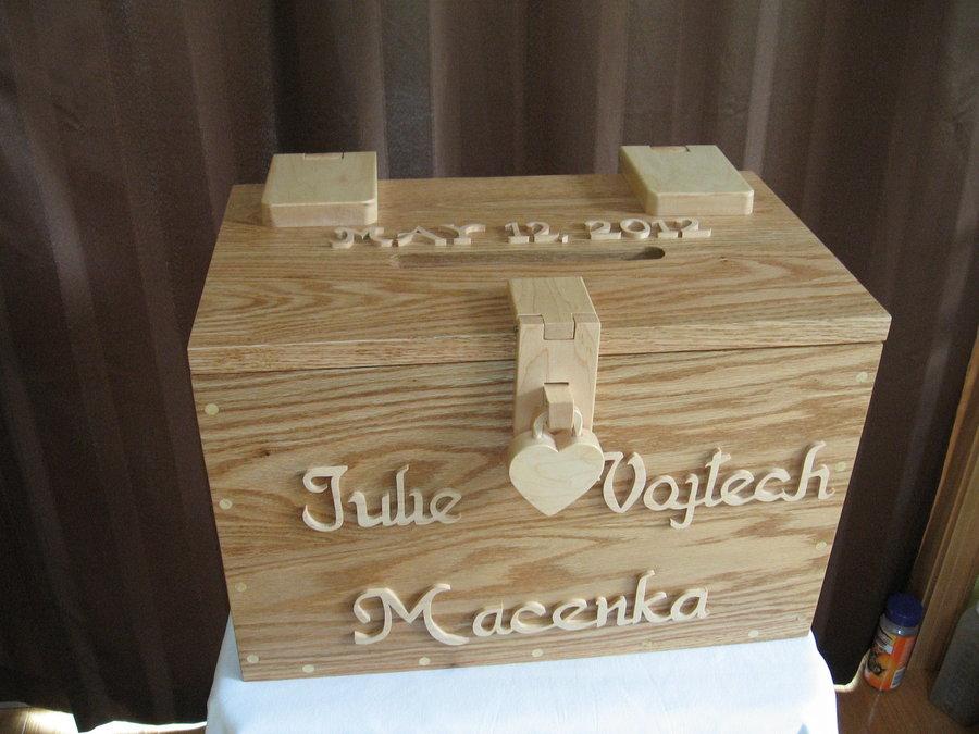 Wedding Card Box With Lock