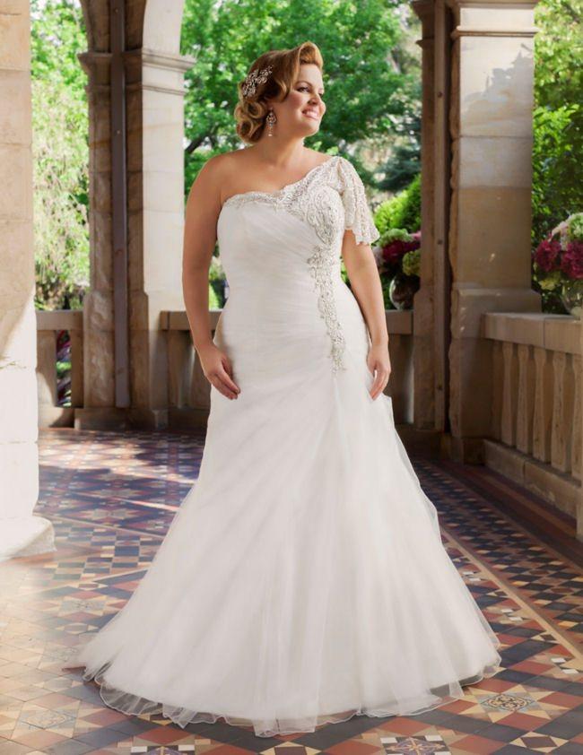 Wedding Dress For Curvy Women