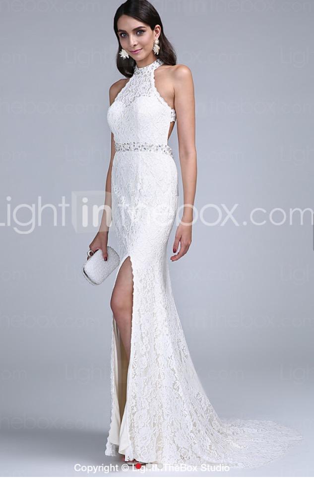 Tight white wedding dress junglespirit Gallery