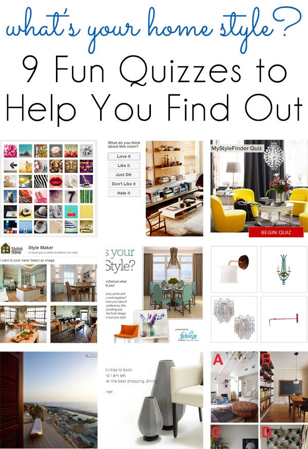 Find My Interior Design Style Quiz
