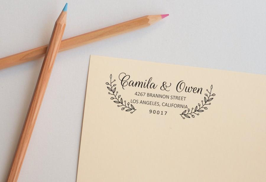 Return Address Label Etiquette Wedding