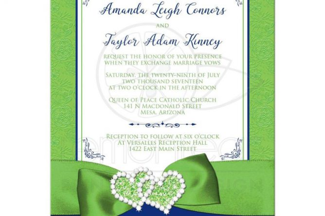 Original Wedding Belts In Particular Stunning Royal Blue And Lime