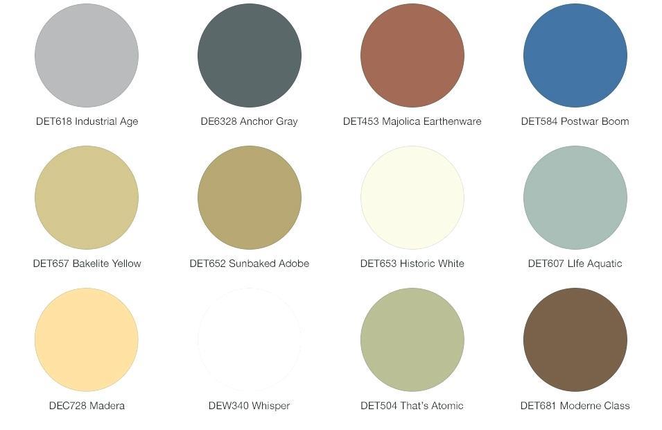 Modern Rustic Color Palette